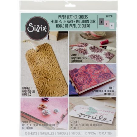 Sizzix - Paper Leather Sheet