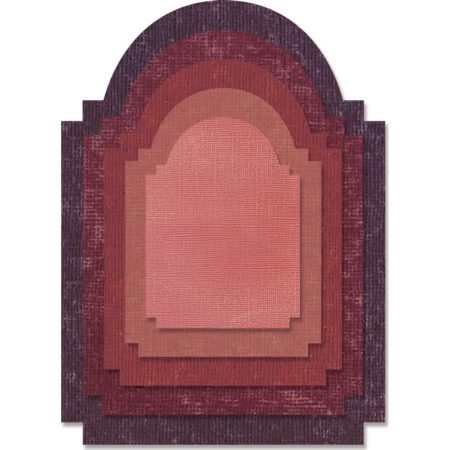 Sizzix - Thinlits - Stacked Archway - 662692