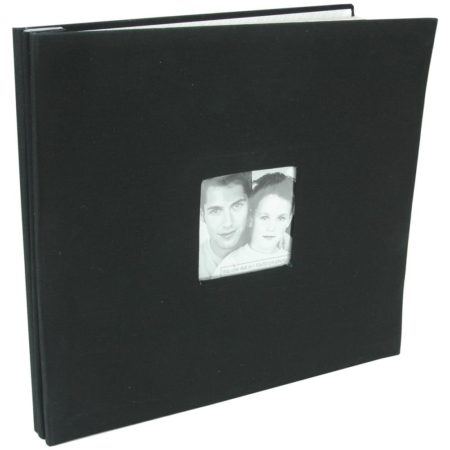 MBI-Fashion Fabric - Scrapbook & Foto Album - Black