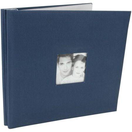 MBI-Fashion Fabric - Scrapbook & Foto Album - Blue