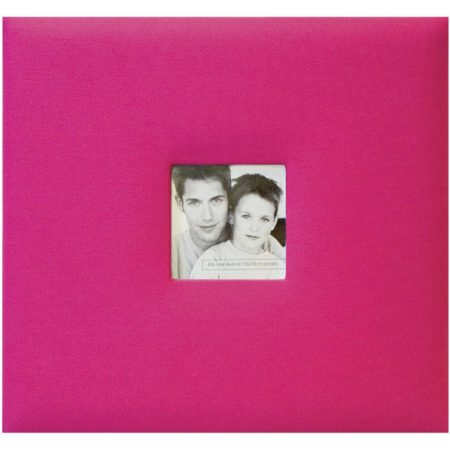 MBI-Fashion Fabric - Scrapbook & Foto Album - Pink