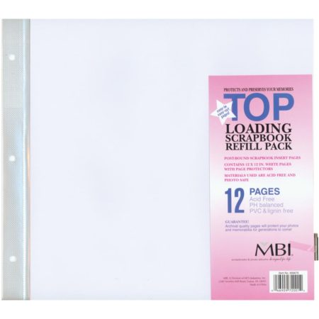"""MBI Page Protectors - Lommer 12""""X12"""""""