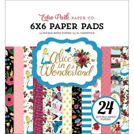 Echo Park Paper – Alice In Wonderland - AIW148023