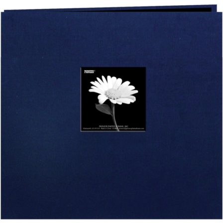 "Pioneer Book Cloth Cover - Regal Navy - 8"" x 8"" - MB88CBFERN"