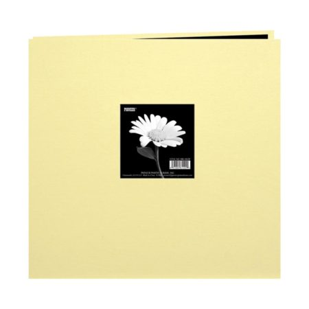 """Pioneer Book Cloth Cover - Soft Yellow - 8"""" x 8"""" - MB88CBFTSY"""