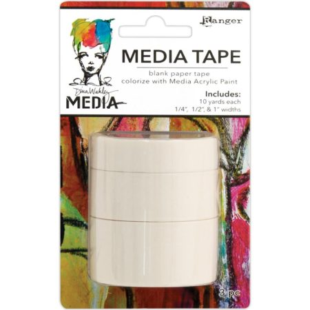 Dina Wakley Media Tape - Blank