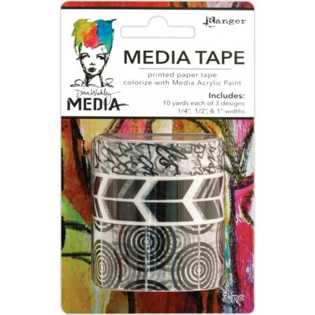Dina Wakley Media Tape - Printed