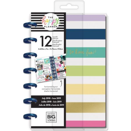 Happy Planner - 12-Month Dated Small Planner - Keep Life Fun