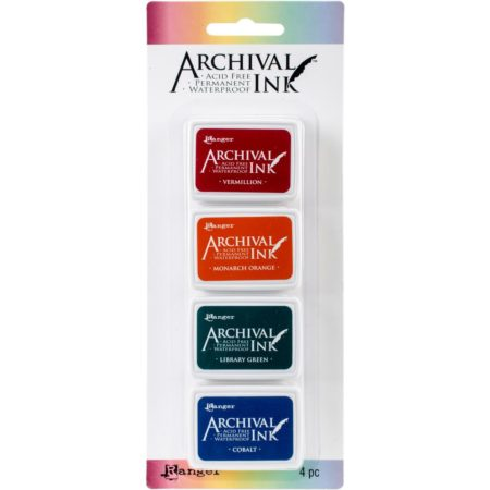 RANGER –  Mini Archival Ink – Pad Kit 1 - AIMK57673