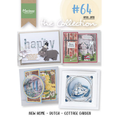 Marianne Design modelhæfte - THE COLLECTION #64 - CAT1364