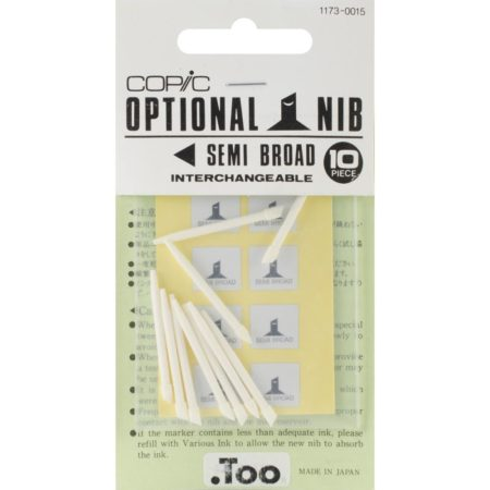 Copic Original Marker Semi Broad Nibs - Original / Classic