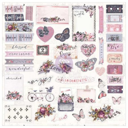 Prima Marketing - Cardstock Die-Cuts - Lavender - 630188