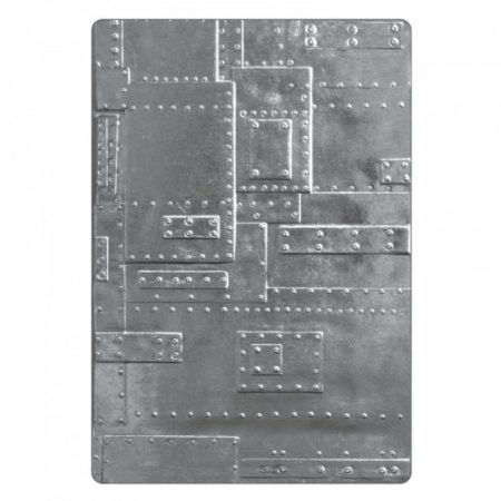 Sizzix Embossing folders - Foundry - 662717