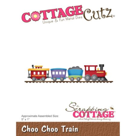 "Cottage Cutz Die - Choo Choo Train 5""X1"" - CC-298"