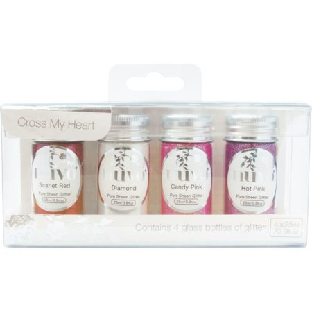 Nuvo pure sheen Glitter - Cross My Heart - 294N