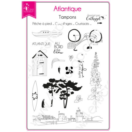 4enscrap clear stamp - Atlantic - 4EN-141