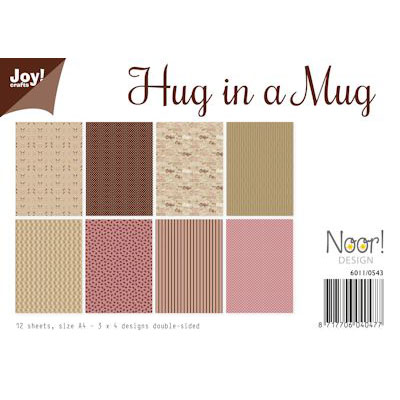 JOY PAPIRSBLOK - Hug in a Mug - 6011/0543
