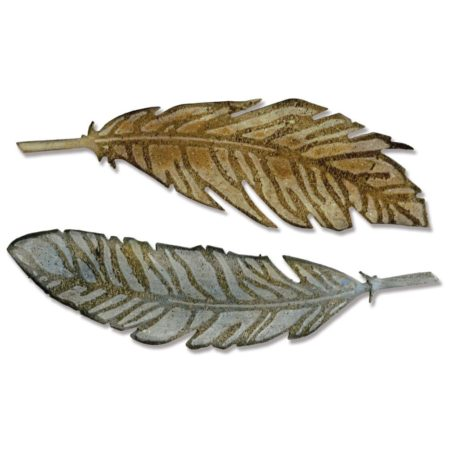 Sizzix Bigz - Tim Holtz - Feather Duo - 660237
