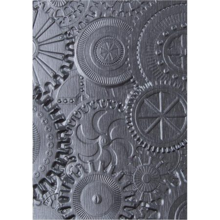 Sizzix Embossing folders - Gears - 662715