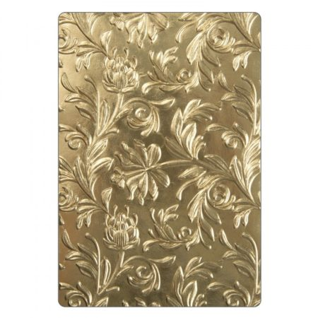 Sizzix Embossing folders 3-D Texture Fades - Leaf - 662716