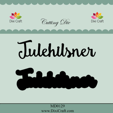 Dixi Craft Dies - Julehilsner - MD0129