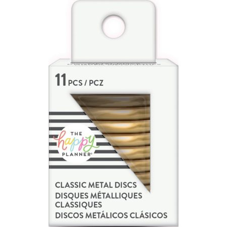 "Create 365 Happy Planner Discs 1.25"" Metal - Gold"