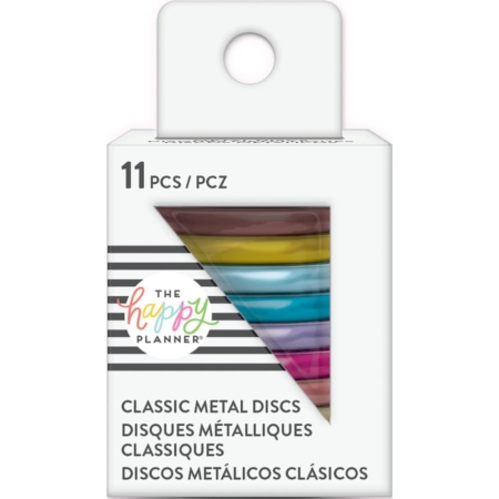 "Create 365 Happy Planner Discs 1.25"" Metal - Rainbow"