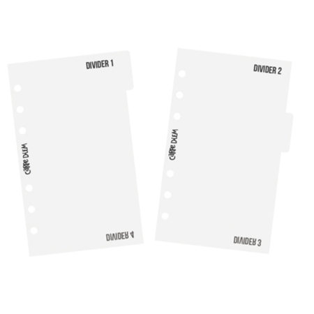 Simple Stories Carpe Diem Personal Divider Templates