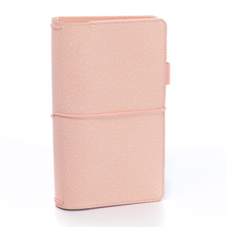 Carpe Diem Traveler's Notebooks - Blush Speckle