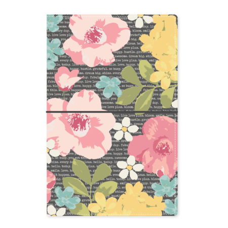 Carpe Diem Traveler's Notebooks Typewriter - Floral