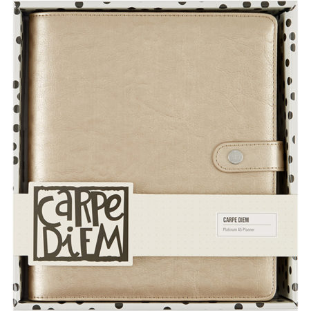 Simple Stories Carpe Diem - Platinum A5 Posh Planner