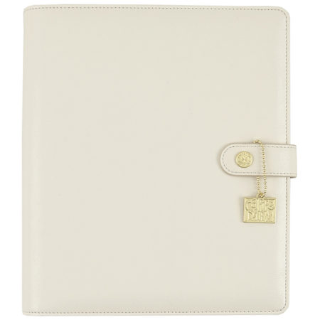 Simple Stories Carpe Diem - Ivory A5 Posh Planner