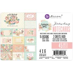 "Prima Heaven Sent 2 Double-Sided Journaling Cards 4""X6"""