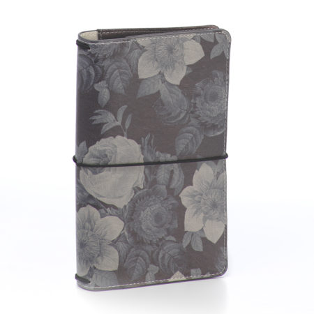 Carpe Diem Traveler's Notebooks - Black Vintage Floral