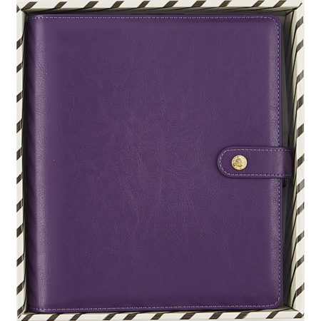 Simple Stories Carpe Diem - Grape A5 Planner Box
