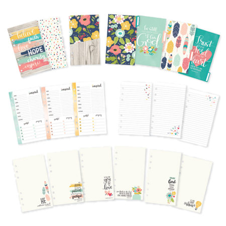 Simple Stories Carpe Diem Planner Faith Personal Planner Insert Set