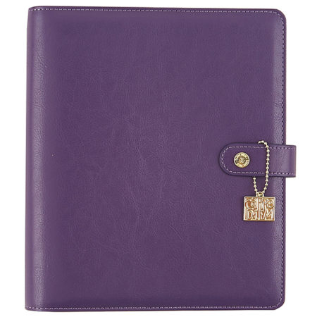 Simple Stories Carpe Diem - Grape A5 Posh Planner