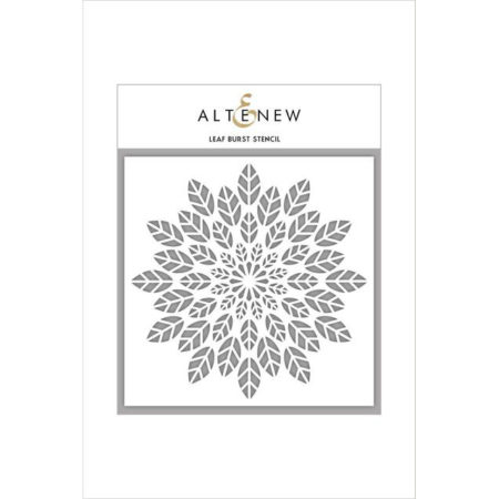 Altenew - Leaf Burst Stencil - ALT1692