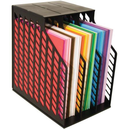 ADVANTUS-CROPPER HOPPER EASY ACCESS PAPER HOLDER BLACK