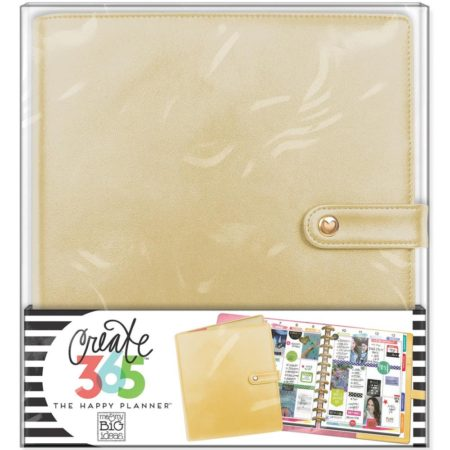Create 365 Happy Planner Deluxe Big Planner Covers - Gold