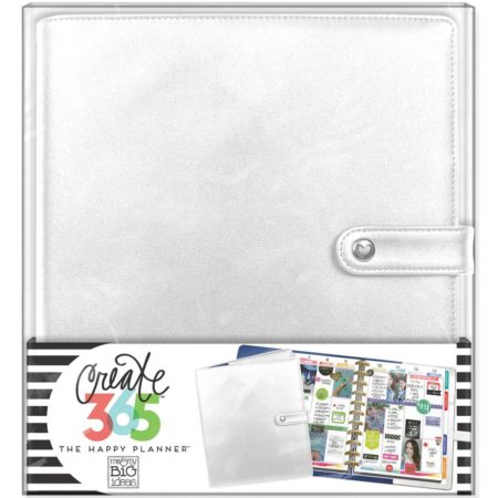 Create 365 Happy Planner Deluxe Big Planner Covers - Silver