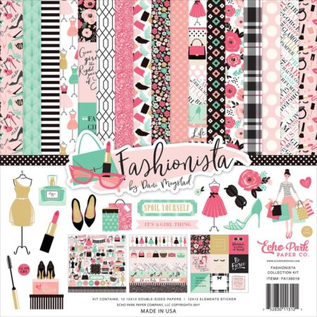 Echo Park Paper Kit - Fashionista - FA139016