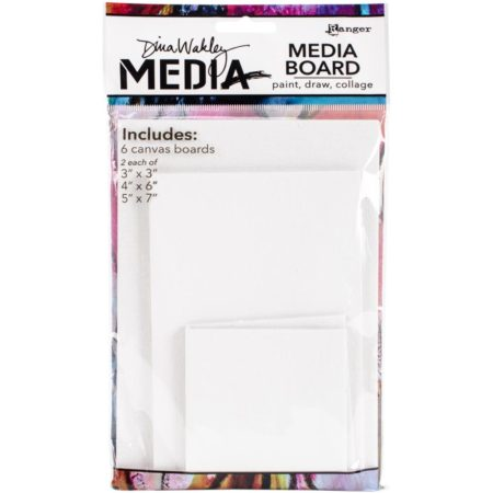 Ranger - Dina Wakley Media Board Mixed Pack