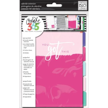 Create 365 Happy Planner Undated Mini Planner Extension Pack
