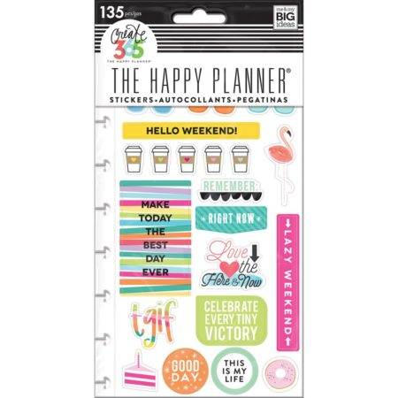 Happy Planner Create 365 Sticker - TGIF - Classic
