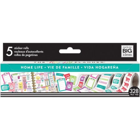 Happy Planner Create 365 Sticker Roll - Home Life