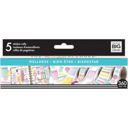 Happy Planner Create 365 Sticker Roll - Wellness