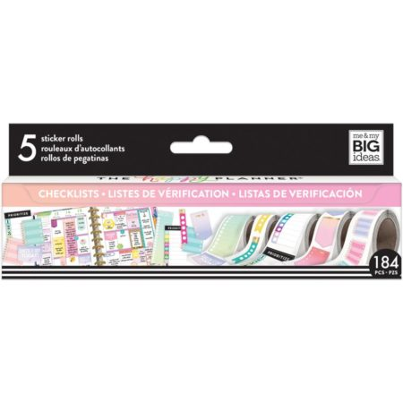 Happy Planner Create 365 Sticker Roll - Checklist