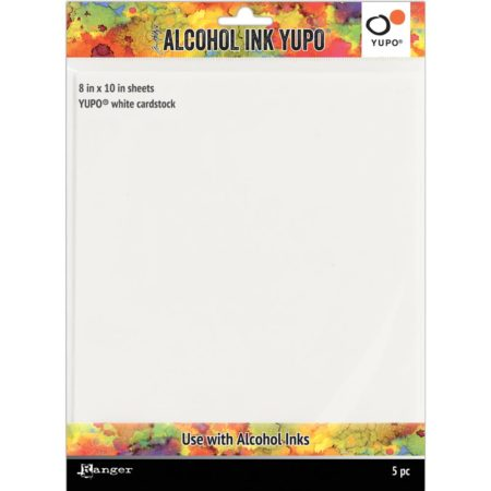 Tim Holtz Alcohol Ink White Yupo Paper 86lb - TAC63346