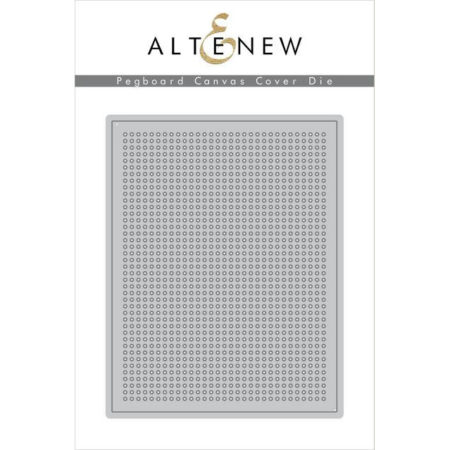 Altenew Die - Pegboard Canvas Cover Die - ALT2114